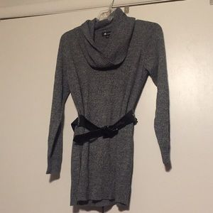 COWL NECK SWEATER TUNIC TOP Soft!